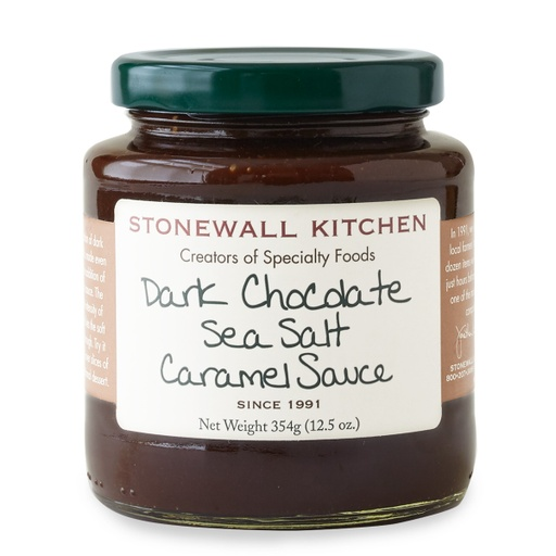 [200264-BB] Stonewall Dark Chocolate Sea Salt Caramel Sauce 12.25oz