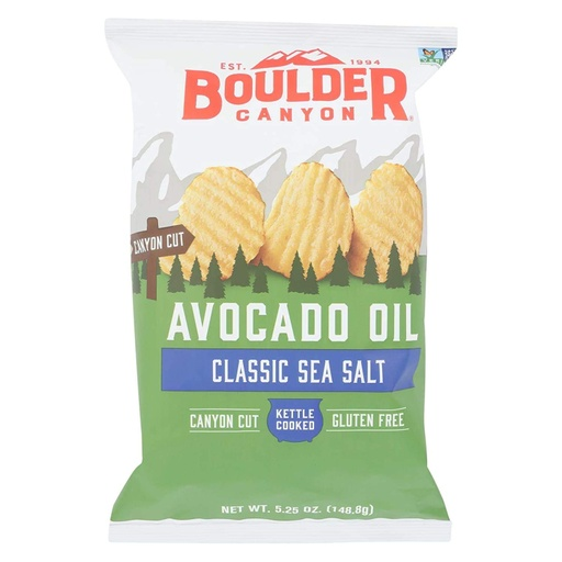 [200302-BB] Boulder Canyon Classic Sea Salt Avocado Oil Potato Chips