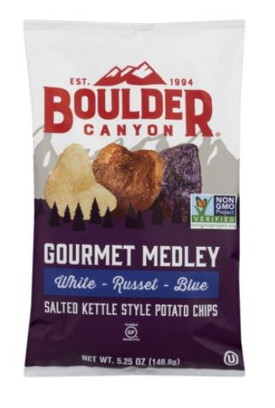 [200303-BB] Boulder Canyon Gourmet Medley Classic Potato Chips 5.25oz