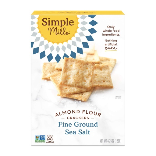 [200326-BB] Simple Mills Almond Flour Sea Salt Crackers 4.25oz