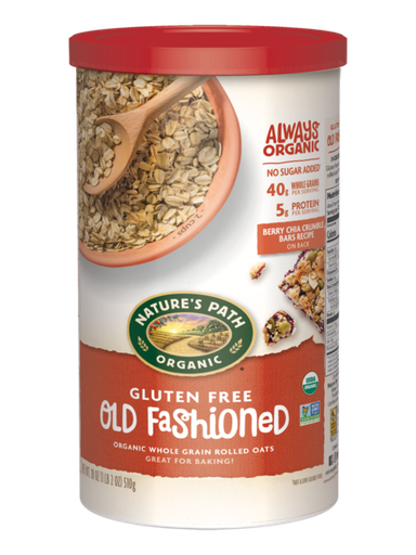 [200359-BB] Nature's Path Old Fashioned Gluten Free Oats 18oz