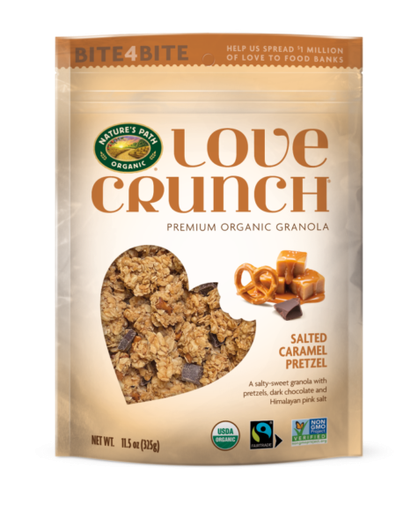[200362-BB] Nature's Path Love Crunch Granola Salted Caramel Pretzel 11.5oz