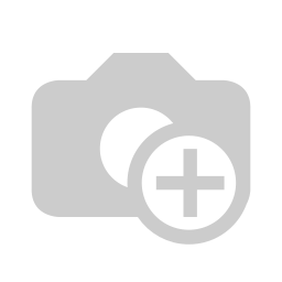 [160421-BB] Square Wall Clock Grey 25-Inch