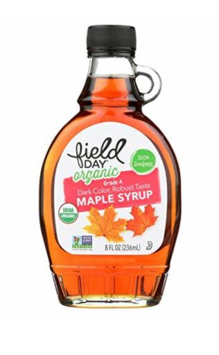 [200605-BB] Field Day Organic A Grade Maple Syrup 8oz