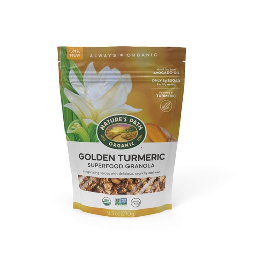 [200863-BB] Nature's Path Organic Turmeric Granola 9.5oz