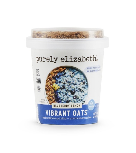 [200867-BB] Purely Elizabeth Blueberry Lemon Vibrant Oats Cup 2oz
