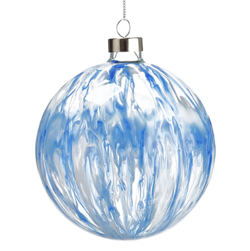 [150077-BB] Blue Splash Ornament
