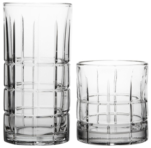 [142177-BB] Manchester Drinkware Set 16pc