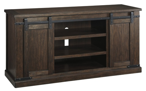 "[503399-BB] Budmore 60"" TV Stand Rustic Brown"