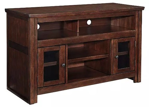 "[503465-BB] Harpan 50"" TV Stand Reddish Brown"