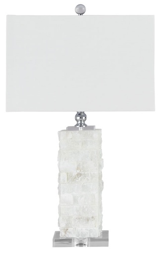 [503536-BB] Malise Table Lamp White