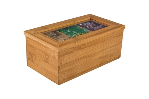 [157724-BB] Tea Storage Box 8x5