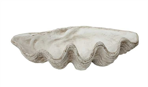 [129916-BB] Giant Clam Bowl 30in