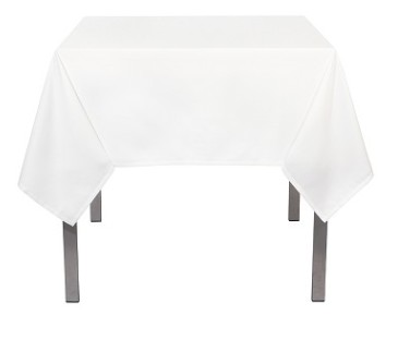 [148222-BB] Renew Tablecloth White 120in