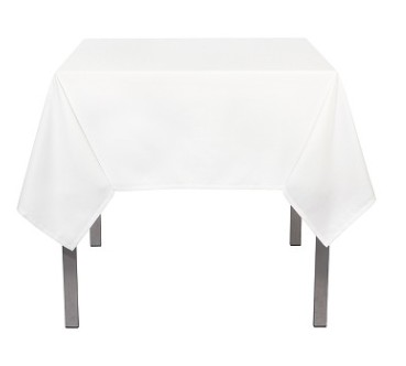 [148223-BB] Renew Tablecloth White 90in