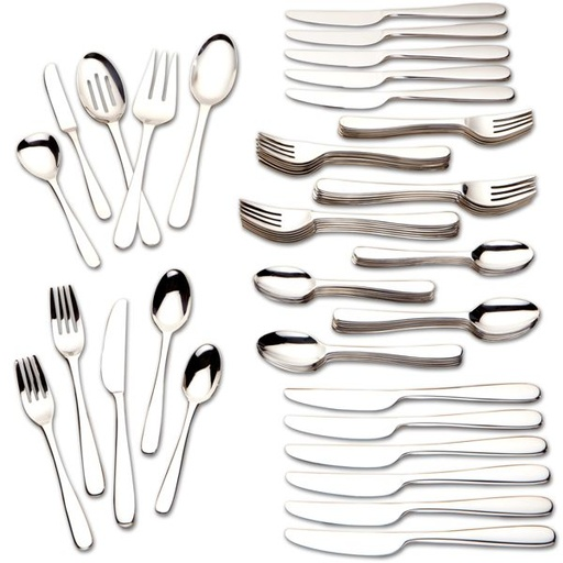 [121907-BB] Stratton 65PC Flatware Set