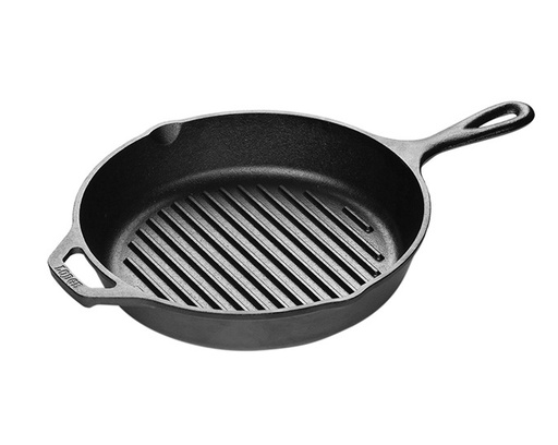 [130429-BB] Lodge CI Round Grill Pan
